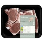 Waitrose 8 hand cut Welsh lamb rack cutlets -