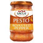 Sacla roasted red pepper pesto - 190g Brand Price Match - Checked Tesco.com 14/04/2014