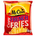 McCain crispy French fries - 1kg Brand Price Match - Checked Tesco.com 09/12/2013