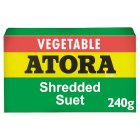 Atora light shredded vegetable suet - 200g Brand Price Match - Checked Tesco.com 02/12/2013