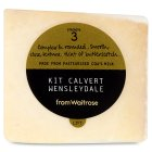 from Waitrose Kit Calvert Wensleydale cheese - per kg