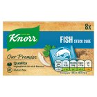 Knorr 8 pack fish stock cubes - 80g