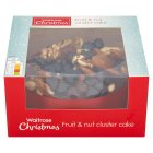 Waitrose fruit & nut cluster cake - 1kg