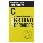 Waitrose Cooks' Ingredients organic ground coriander - 37g