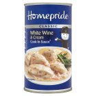 Homepride white wine & cream cook-in-sauce - 500g Brand Price Match - Checked Tesco.com 04/12/2013