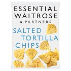 Waitrose salted tortilla chips - 200g