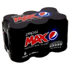 Pepsi Max - 6x330ml Brand Price Match - Checked Tesco.com 16/07/2014