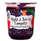 Yeo Valley organic apple & berry fruit compote - 450g