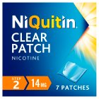 NiQuitin CQ Clear step 2 patches - 7s Brand Price Match - Checked Tesco.com 10/03/2014