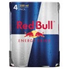 Red Bull energy drink - 4x250ml Brand Price Match - Checked Tesco.com 05/03/2014