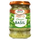 Sacla classic pesto pasta sauce - 190g Brand Price Match - Checked Tesco.com 05/03/2014