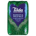 Tilda basmati & wild rice - 500g Brand Price Match - Checked Tesco.com 14/04/2014