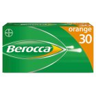 Berocca effervescent tablets orange - 30s Brand Price Match - Checked Tesco.com 28/07/2014