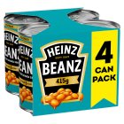 Heinz Baked Beanz, 4 pack - 4x415g Brand Price Match - Checked Tesco.com 01/09/2014