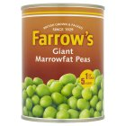 Farrow's Giant Marrowfat processed peas - drained 330g