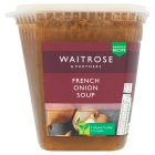 Waitrose French onion soup - 600g