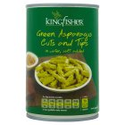 Kingfisher canned asparagus cuts & tips - drained 240g