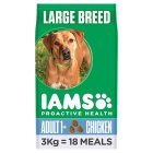 Iams Adult Dry Dog Food Large Breed Chicken - 3kg Brand Price Match - Checked Tesco.com 18/11/2014