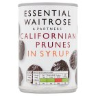 Essential Waitrose Prunes (in light syrup) - 420g