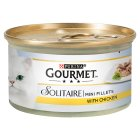 Gourmet solitaire with chicken in a white sauce