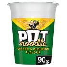 Pot Noodle - chicken & mushroom - 90g Brand Price Match - Checked Tesco.com 09/12/2013