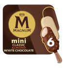 Magnum Mini classic, almond & white 6 pack ice cream - 330ml