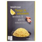 Waitrose lemon & garlic couscous - 110g