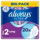 Always Ultra Long Plus with Wings Duo Pack Sanitary Towels 22PK - 22s Brand Price Match - Checked Tesco.com 03/02/2016