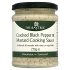 The Bay Tree pepper & mustard cooking sauce