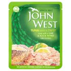 John West tuna with a twist lime & black pepper