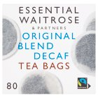 Essential Waitrose Original Blend Decaffeinated Tea - 80 Bags - 250g