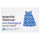 essential Waitrose non-biological tablets, 24 washes