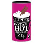 Clipper Fairtrade instant hot chocolate - 350g Brand Price Match - Checked Tesco.com 16/12/2013