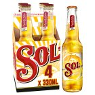 Sol Mexican beer - 4x330ml