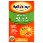 Haliborange vitamins A C & D - 60s Brand Price Match - Checked Tesco.com 25/11/2015