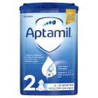 Aptamil 2 follow on milk 6 months 900g - 900g Brand Price Match - Checked Tesco.com 20/10/2014