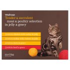 Waitrose special recipe poultry selection cat food, 12 x 100g pouches