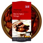 Waitrose British hot and spicy roast chicken wings
