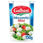Galbani 20 mini mozzarella - drained 150g