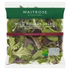 Waitrose wild rocket salad