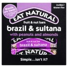Eat Natural bars brazils sultanas almonds & hazelnuts - 3x50g Brand Price Match - Checked Tesco.com 10/03/2014