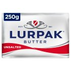 Lurpak Danish unsalted butter - 250g Brand Price Match - Checked Tesco.com 01/07/2015