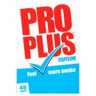 Pro Plus tablets - 48s Brand Price Match - Checked Tesco.com 17/09/2014