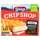 Young's chip shop large haddock fillets - 480g Brand Price Match - Checked Tesco.com 17/12/2014