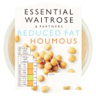 essential Waitrose reduced fat houmous - 300g