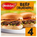 Birds Eye 4 beefburgers - 227g Brand Price Match - Checked Tesco.com 02/12/2013
