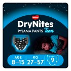 Drynites Pyjama Pants, Boy age 8-15 yrs, 27-57kg - 9s Brand Price Match - Checked Tesco.com 10/03/2014