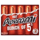 Peperami Hot multipack - 5x25g Brand Price Match - Checked Tesco.com 25/11/2015
