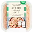 Waitrose smoked trout pâté - 100g