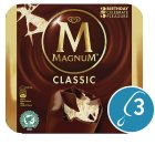 Magnum classic 3 pack ice cream - 330ml